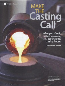 Casting call AJ 01 12