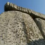 Standing stone at Stonehenge