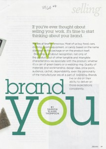 Brand You LJ cover