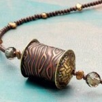 Soldered hollow bead. Kate Richbourg