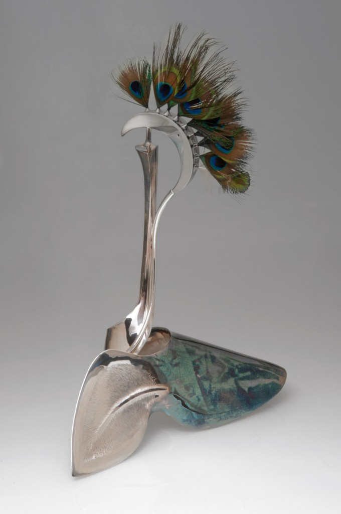 Peacock, by Heikki Seppä. Photo courtesy Nick Felkey